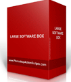 Large Software Box Standing