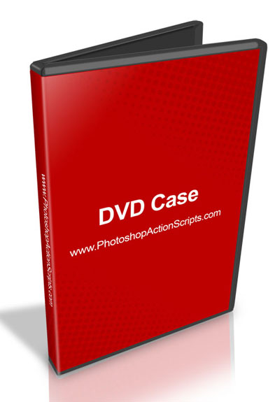 DVD Case Opened Standing