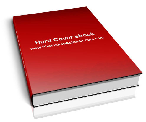 Hard Cover Book Laying